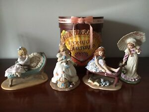 Reduced - 4 Beautiful BRAND NEW Figurines in Boxes