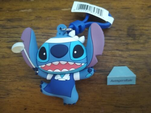 Disney Lilo & Stitch Figural Bag Clip Series 3 3 Inch Chef Stitch