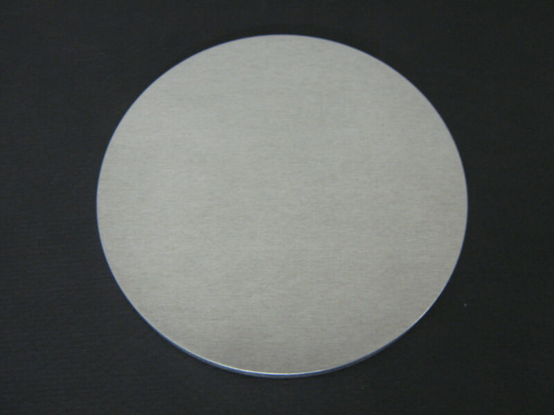 "8"" Dia. x 1/4"" Thick Aluminum Round Disc Alloy - 5052-H32 Mill Finish"