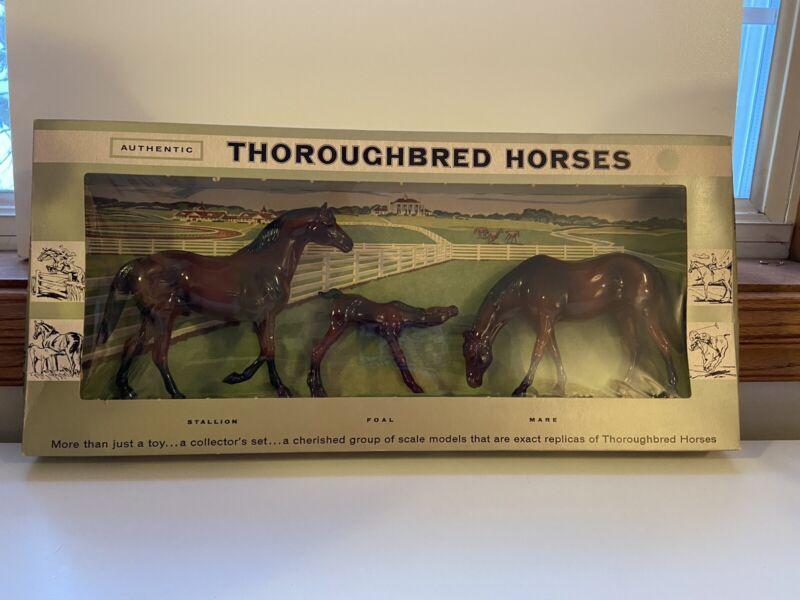 Vintage Hartland Collector Set Thoroughbred Horses
