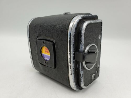 1978 - Hasselblad V System Camera A12 120 6x6 Roll Film Back w/ Matching Insert