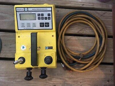 Druck Dpi 601 Csa Digital Pressure Indicator Spc-a011 Exia T3c With Hoses