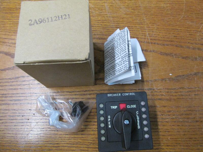 NEW NOS Cutler Hammer 2A96112H21 Breaker Control Switch 120/240/480/600VAC