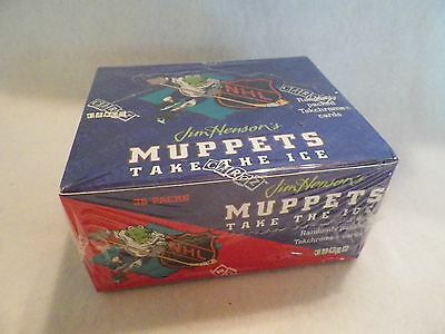 2 BOX of 1994 Muppets Take The Ice NHL Unopened Trading Card 36 Pack Box - Ice Trading