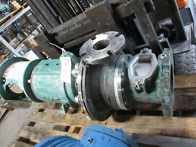 Vaughn Stainless Steel Pump 6x3 Casting 729345b Used