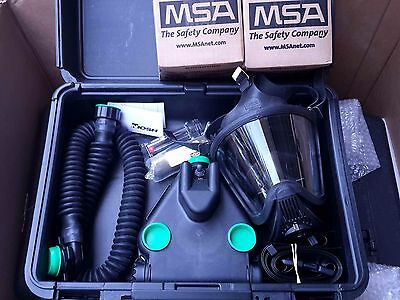 Msa C420 Responder Papr Wultra Elite Cbrn Gas Mask Nbc Filters Case New