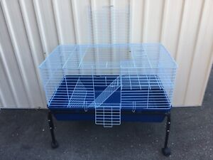 Brand NEW Cage & Trolley for Guinea Pigs with platform; cage assembled
