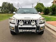 2004 Toyota Landcruiser Prado Grande Turbo Diesel(4x4) Wagon long rego Liverpool Liverpool Area Preview
