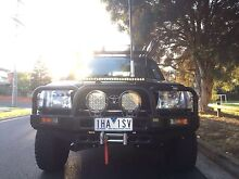 2000 toyota landcruiser 100 series factory turbo diesel automatic Melbourne Airport Hume Area Preview