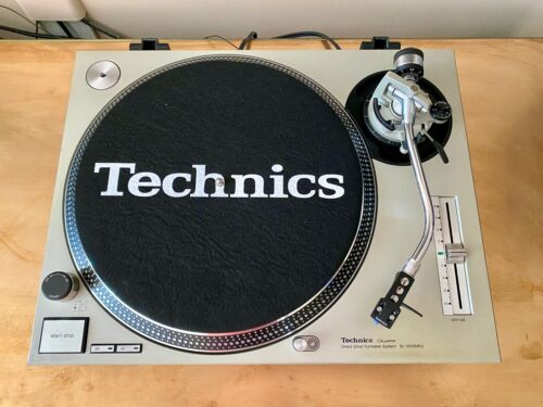 TechnicsSL-1200MK2 Direct-Drive DJ Turntable - Silver +Technics Cartridge