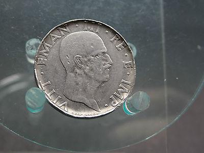 50 Centesimi 1940 moneta monete sicuro Probe Verprägung Italien