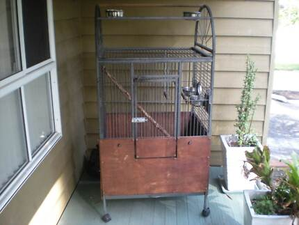 Parrot Cage - Mobile with waterproof cover Smiths Lake Great Lakes Area Preview