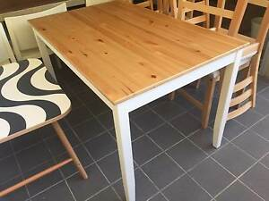 IKEA Lerhamn table and 4 chairs, brand new! Newstead Brisbane North East Preview