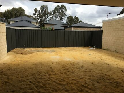 Wanted: Uninstall colourbond fence and put footings in place for brick wall