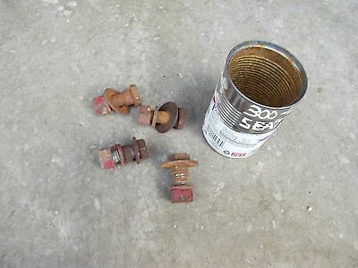 Farmall 300 400 450 350 Tractor Ihc Eccentric Style Seat Mounting Mount Bolts