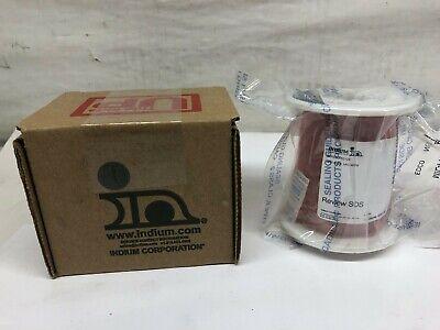 Indium Corp 1lb Spool Bismuth-tin Wire 57bi 42sn 1ag Ipn Wirebo-52123