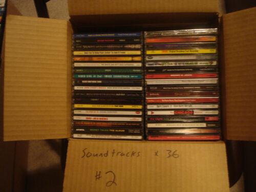 Soundtracks 36 CD lot #2 w/ free shipping!