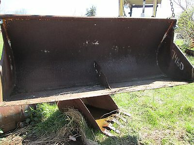 Loader Bucket For Case 580b Industrial Tractor