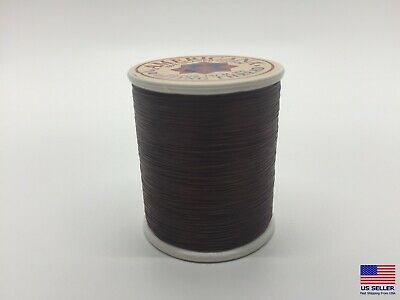 Sewing Thread 100 Cotton Spool Brown Chestnut All Purpose Sew Usa Mask Making