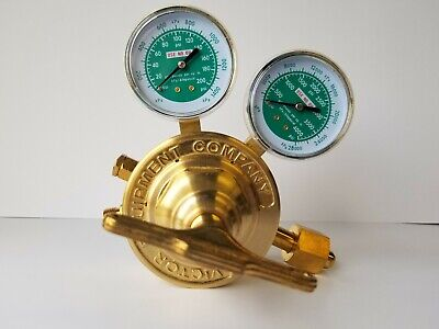 Heavy Duty Victor Oxygen Pressure Regulator Refurbished