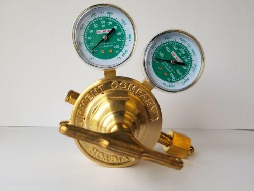 Heavy Duty VICTOR Oxygen Pressure Regulator, Refurbished