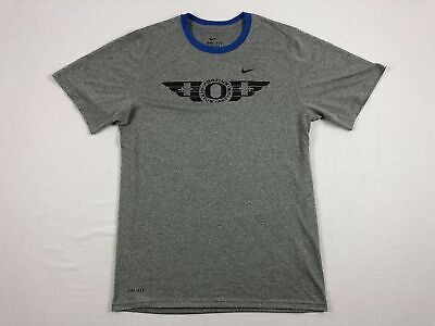 - NEW Nike Oregon Ducks  - Gray Dri-Fit Short Sleeve Shirt (Multiple Sizes)
