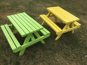 Small pic nic tables two for $100