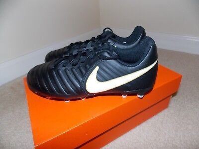 Nike Jr Tiempo Rio IV Firm-Ground Kids' Soccer Cleats Size 3Y