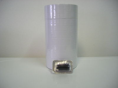 1115 Monarch Price Gun Labels -white - 8 Sleeves - 120000 Labels