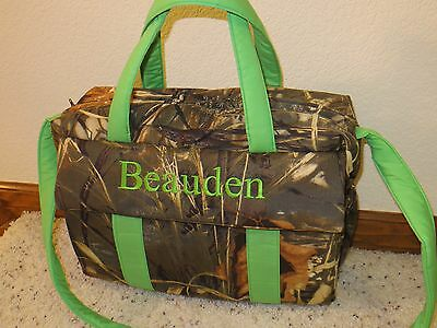 Realtree 4D Max custom handmade EMIJANE Diaper Bag w/change