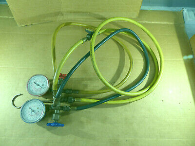 Robinair R-12 R-22 R-502 Ac Air Conditioning Manifold Gauge Set