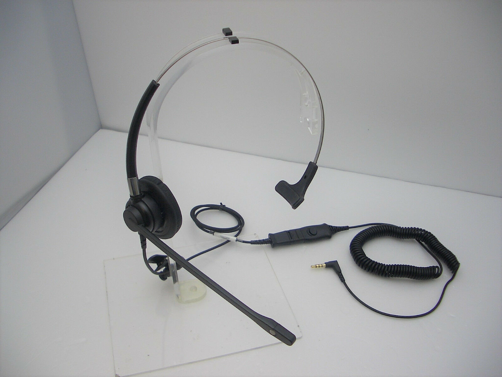 Details about FM300 Mono Headset for iPhone Samsung Blackberry LG HTC 3.5mm jack mobile phone
