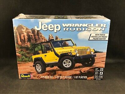 Revell Jeep Wrangler Rubicon 1:25 Scale Plastic Model Kit 85-4501 Factory Sealed