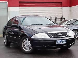 2002 Ford Fairmont AUIII Sedan *** $4,990 DRIVE AWAY *** Footscray Maribyrnong Area Preview