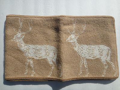 "Thomas Paul, thomaspaul, Deer Alpaca Scarf, Camel (light brown color), 9"" x 63"""