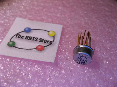 Ca3001 Video Wideband Amplifier Opamp Ic Rca Metal Can - Nos Qty 1