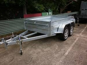8X5 NEW HEAVY DUTY HIGH SIDE TANDEM HOT DIP GALVANISED TRAILER Carlton Kogarah Area Preview