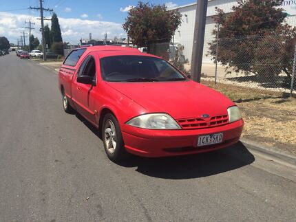 Wanted: Ford falcon 2001 utility