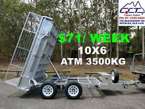TAKE HOME LAYBY!! 10X6 HYDRAULIC TIPPER TRAILER $71/ WEEK