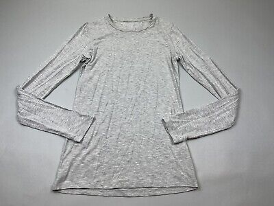 Majestic Filatures Soft Touch Dulion Deluxe Teeshirt 1 Gray Long Sleeve S Small