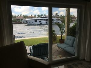 Condo sur Intracoastal à Hollywood Beach en Floride (2 ch 2 sb)