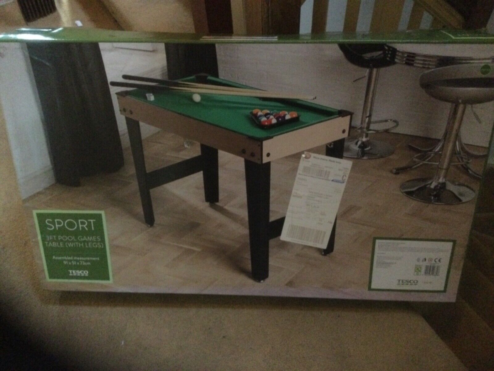 Pool table 3 foot Kids / childrens  new