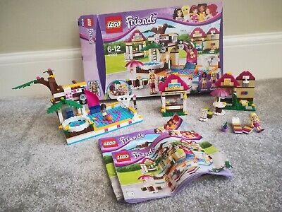 LEGO Friends 41008 Heartlake City Pool 99.9% complete, boxed, instructions
