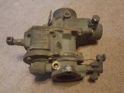 Ensign Brass Carburetor Caterpillar Tractor Old Antique