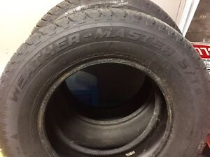 Winter tires. 205/70/15  TWO COOPER WEATHERMASTER ALMOST NEW.