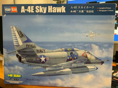 1/48 Hobby Boss A-4E Sky Hawk 81764 - US Seller