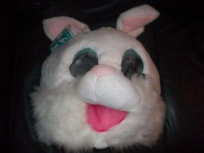 Rabit Maskimals Halloween Head Costume Mascot Plush Furry Mask New Adult Size - Rabit Costume