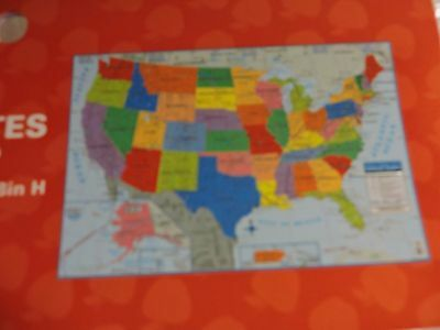 United States Us Wall Map  40  X 28  Usa Poster Size   Home  School Or Office