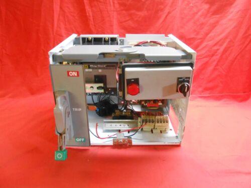 SQUARE D Model 6 MCC BUCKET FA100-3MC6 FRAME  3Amp 1HP 480VAC 3PH - RECON