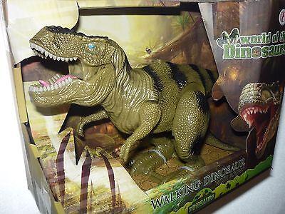 Dinosaurier mit Funktion bewegliche Saurier mit Sound Tyrannosaurus Rex Urtiere